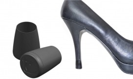 BLACK Heel Tips