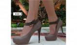 heel cap - stiletto heel protector - stiletto - high heeled shoes - colored heel protector