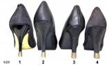 Embout talon et protege talon 4 pairs-4 sizes- Nacreous