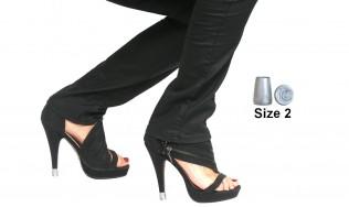 heel caps - stiletto repair - shoe heel repair - women heel repair - heeles shoes repair
