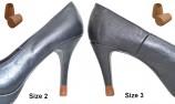 heel tip - removable shoe heel protector - removable heel cap - removable stiletto heel - removable high heel protectors
