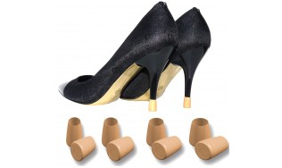 nude shoe heel protection - nude high heels - nude heel cap - nude stiletto - nude heel pump