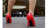 pumps strass - high heel decoration - stiletto protection - worn out heel - women shoes