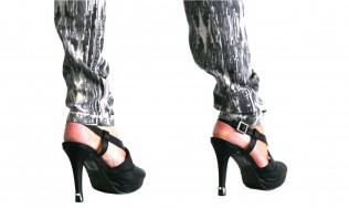 jewel heel tip - shoe heel protectors - adding design on stiletto - high heel decoration - fashion protection kitten heels