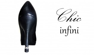 talon chic - worn out heel - heel cap - jewels on stiletto - adding design on shoes