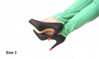high heels - kitten heel - shoe repair - women shoes - colored stiletto