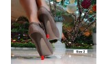 heeled shoes - stiletto protectors - heel tip replacement - colored high heel