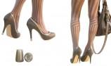 heel cap - removable heel protectors - high heel - women shoes - designed stiletto