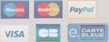CB Visa MasterCard Paypal eCB