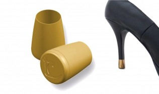 GOLD Heel tips