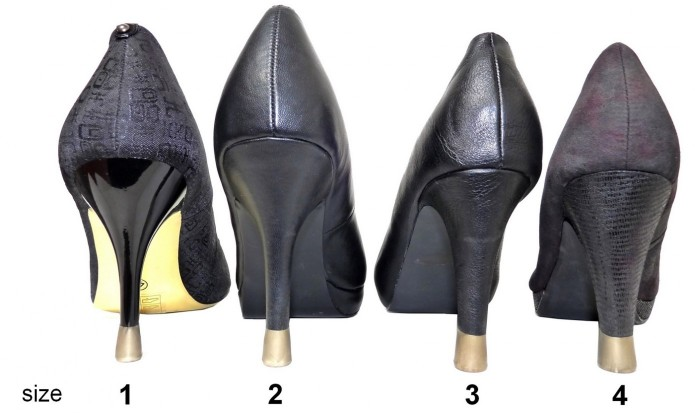 heel cap - stiletto heel protector - stiletto - high heeled shoes - colored heel protector