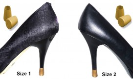 colored heel protectors - colored heel cap - colored shoe heel protection - shoes heel protectors - high heel protection