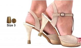 colored heel protectors - colored heel cap - colored shoe heel protection - shoes heel protectors - high heel protection