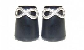 talon chic - worn out heel - heel cap - jewels on stiletto - adding design on shoes