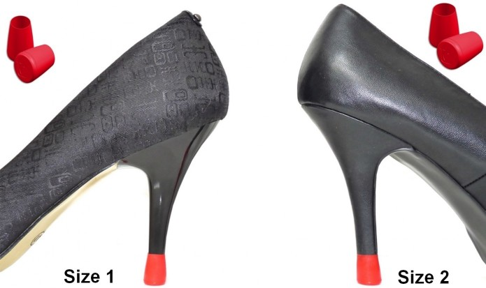 high heel repair - fashion shoes - fast heel repair - stiletto protectors - heeled shoes