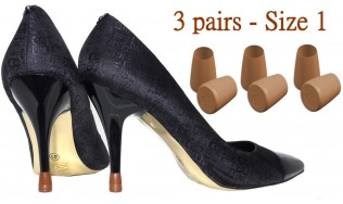 3 Pairs - one Size - Brown