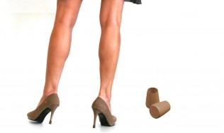 BROWN-heel-protectors